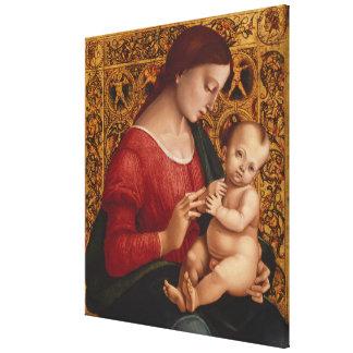 Lienzo Madonna y niño, circa 1505-07