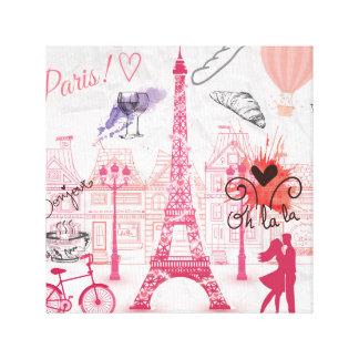 Lienzo Magia de París
