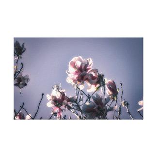 Lienzo Magnolia majestuosa en lona