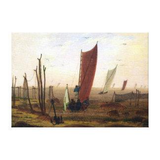 Lienzo Mañana de Caspar David Friedrich