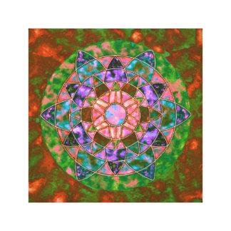 Lienzo Mandala abstracta