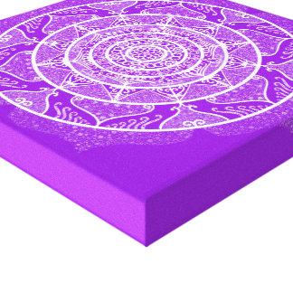 Lienzo Mandala Amethyst