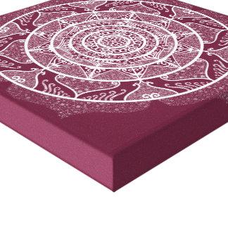 Lienzo Mandala de la mora
