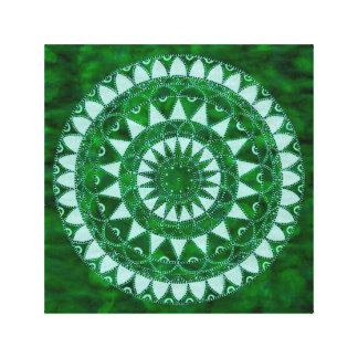 Lienzo Mandala de la naturaleza
