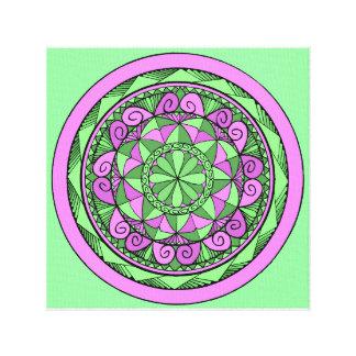 Lienzo Mandala del añil
