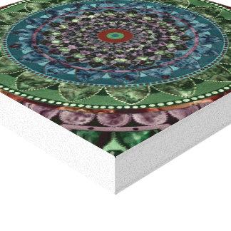 Lienzo Mandala del caleidoscopio