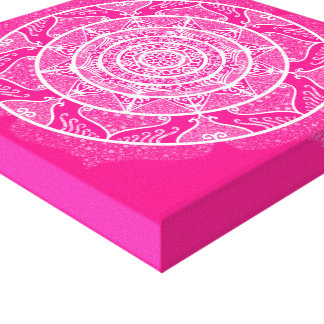 Lienzo Mandala del Foxglove