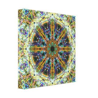 Lienzo Mandala del fractal