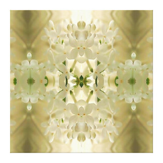 """Lienzo """"Mandala del ramo del flor"""""""