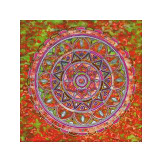 Lienzo Mandala multicolora