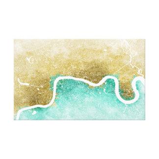 Lienzo Mapa #1 de Londres