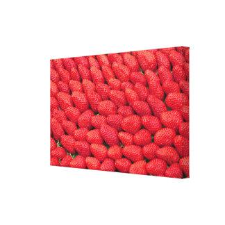Lienzo Mar de fresas