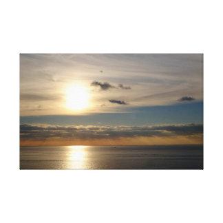 Lienzo Mar y Sun
