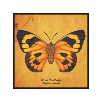 Lienzo Mariposa de la polilla
