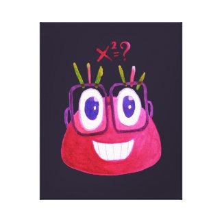 Lienzo Matemático lindo del carácter del caramelo del