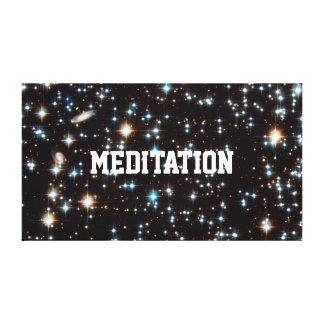 LIENZO MEDITACIÓN EN HYPERSPACE