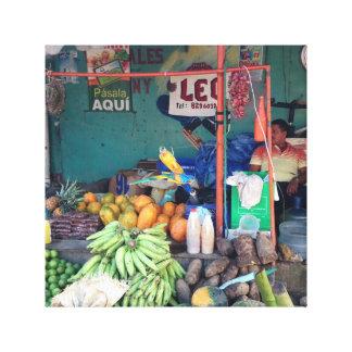 Lienzo Mercado Dominicano