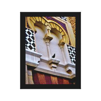 Lienzo Mezquita de Jedda