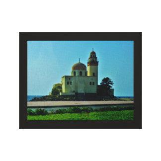 Lienzo Mezquita del Mar Rojo