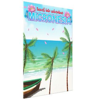 """Lienzo Micronesia """"viaje en aventura """""""