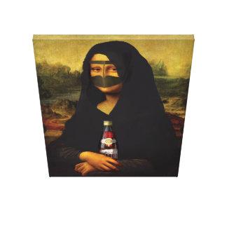 Lienzo Mona Lisa árabe