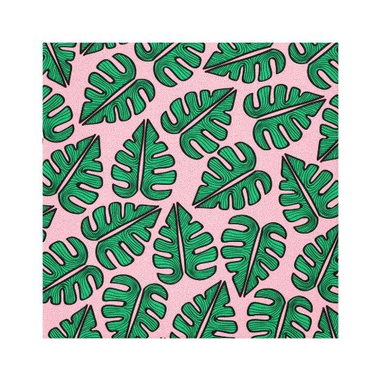 Lienzo Monstera Leaf Canvas