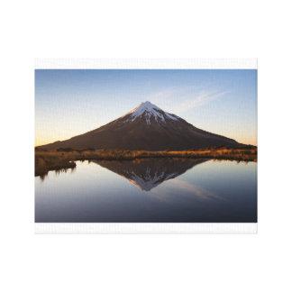 """Lienzo Montaña 14"""" de Nueva Zelanda x 11"""", 1,5"""", solo"""