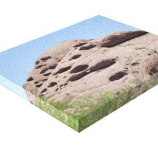 Lienzo Montaña de la formación de roca de Phoenix Arizona