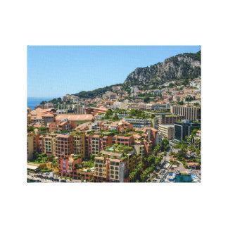 Lienzo Monte Carlo Mónaco