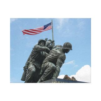 Lienzo Monumento de Iwo Jima en Washington DC
