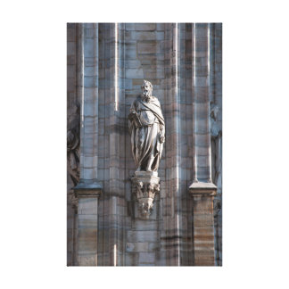 Lienzo Monumento de la arquitectura de la estatua de la
