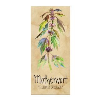"""Lienzo Motherwort mágico de las plantas 18,30"""" x 41,73"""""""