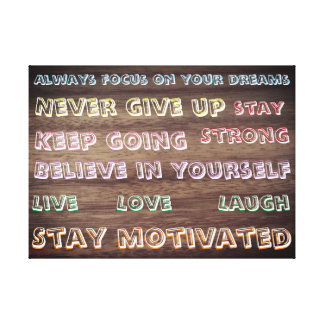 Lienzo Motivación