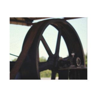 Lienzo Motor viejo