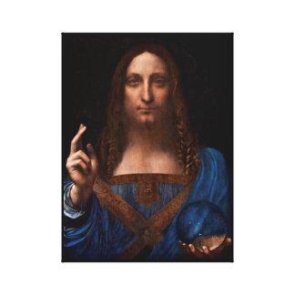 Lienzo mundi de Salvador de Leonardo da Vinci