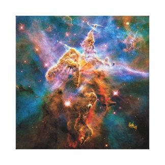 Lienzo Nebulosa mística de Carina de la montaña