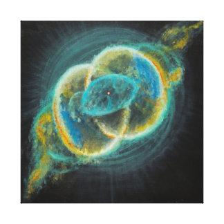 Lienzo Nebulosas sagradas 111 de Piscis de la vejiga de