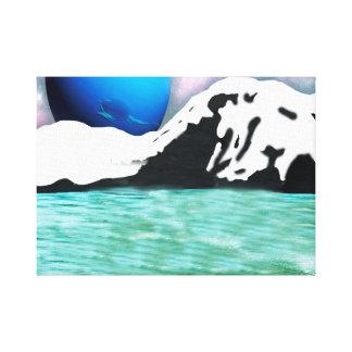Lienzo Neptuno