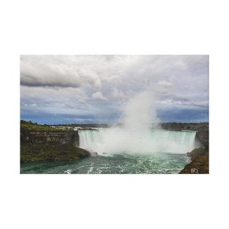Lienzo Niagara Falls, Canadá, caídas de la herradura y