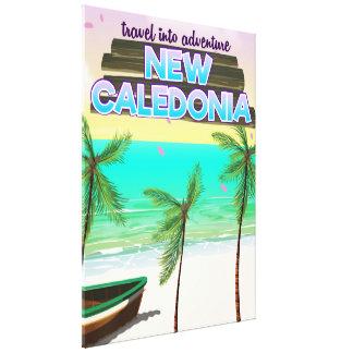 Lienzo Nuevo cartel del viaje de la aventura de Caledon