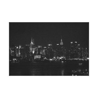 Lienzo NYC blanco y negro