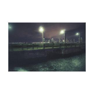 Lienzo NYC - En la oscuridad