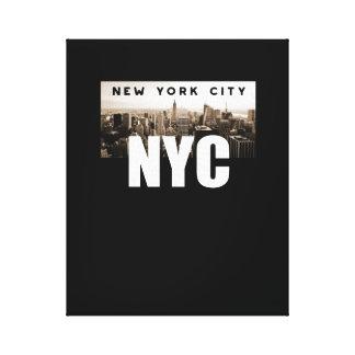 Lienzo NYC New York City. Horizonte. América, los