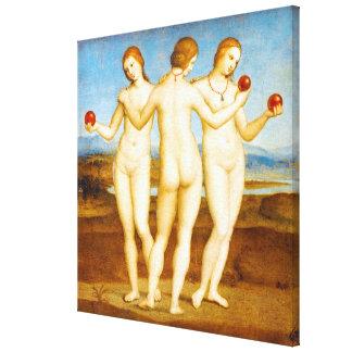 Lienzo Obra clásica restaurada de Raphael la pintura de