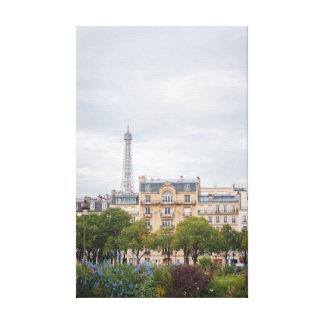 Lienzo Opinión 002 de la torre Eiffel