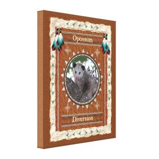 Lienzo Oposum - la diversión estiró la lona envuelta