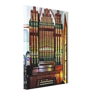 Lienzo Órgano en iglesia