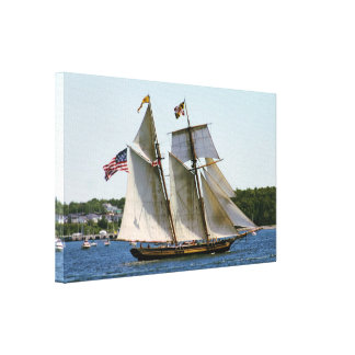 Lienzo Orgullo de la foto alta de la nave de Baltimore II