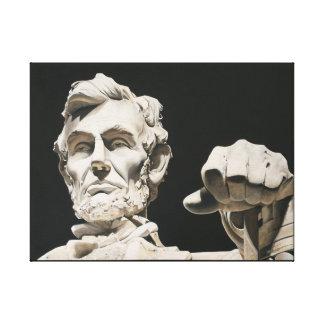 Lienzo Original de Abraham Lincoln - reflexión