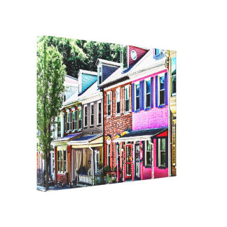 Lienzo PA de Jim Thorpe - calle colorida